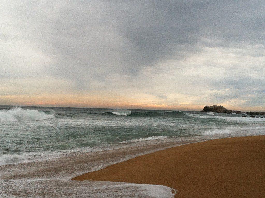 Chile surfing beach
