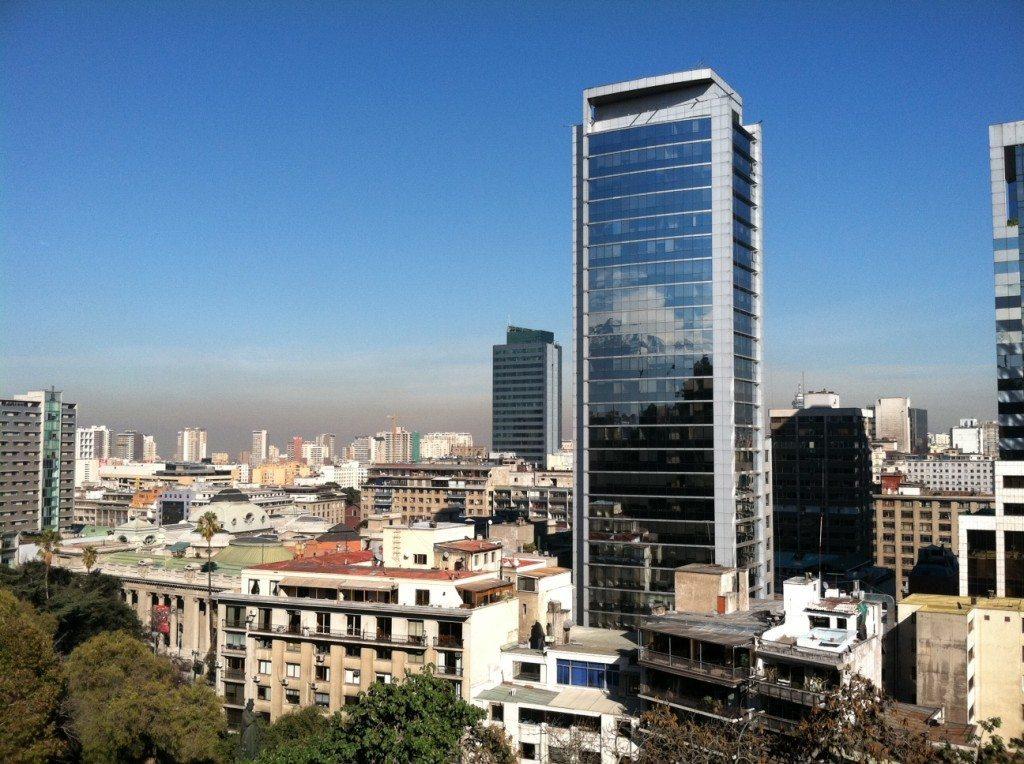 modern architecture in Santiago