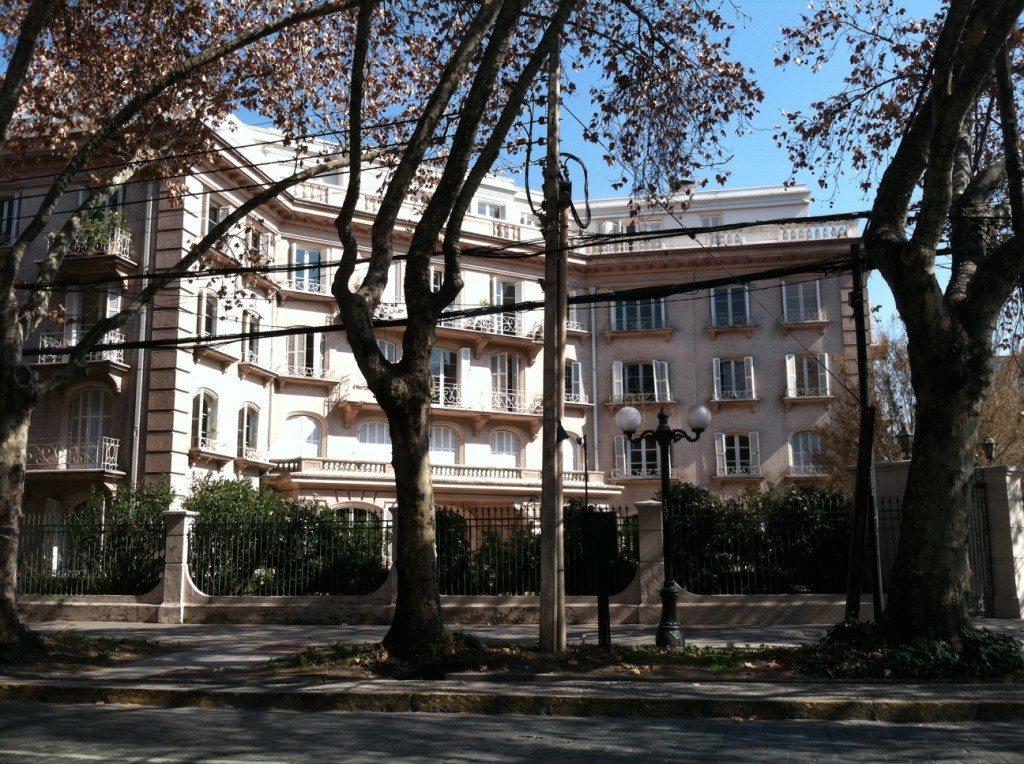 famous buildings in Santiago
