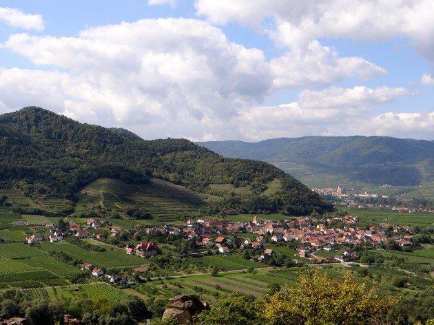 bike trails Wachau Valley