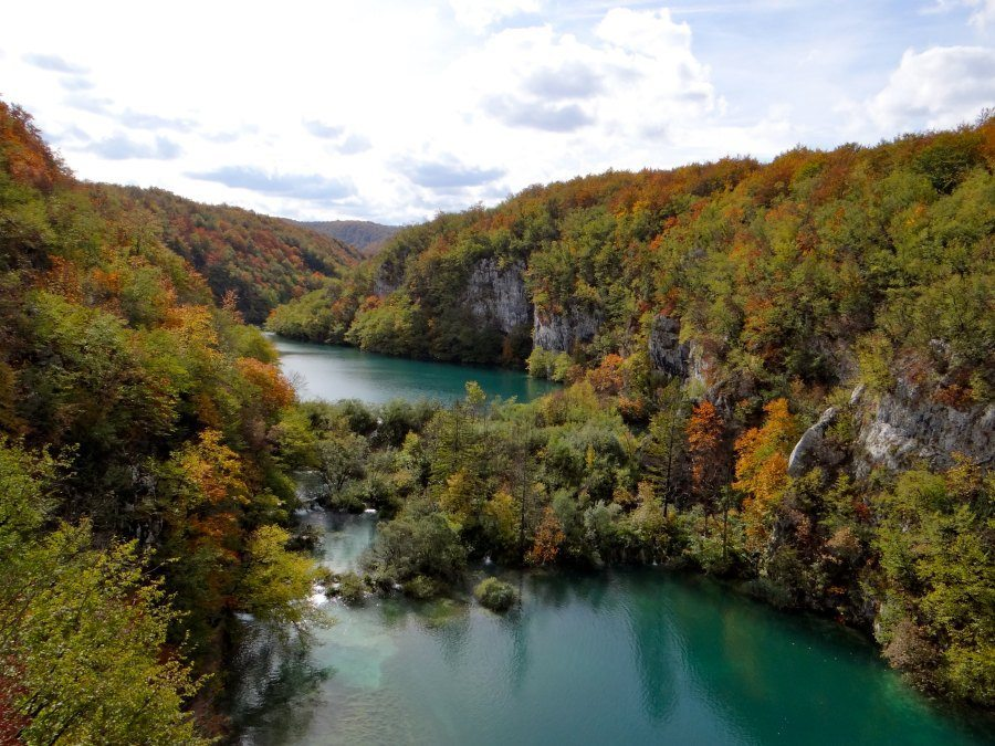best views in Plitvice Lakes