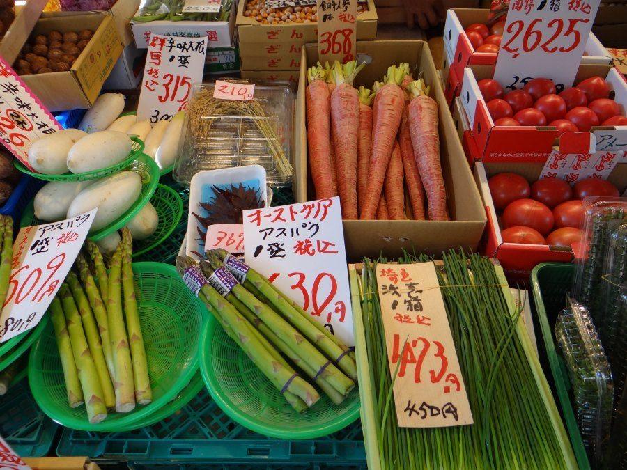 Guide to Tsukiji Fish Market