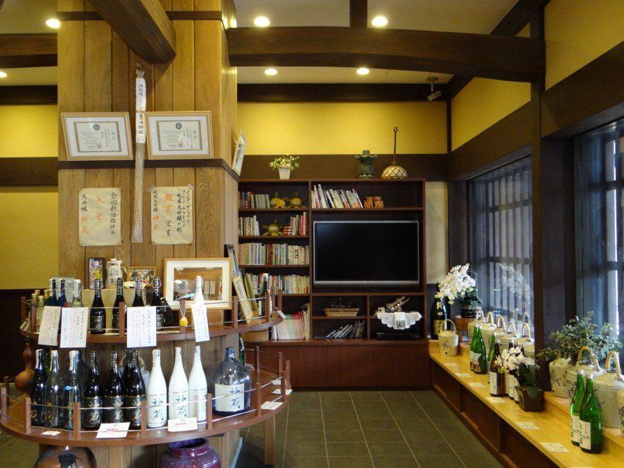 Sake brewery in Kyoto