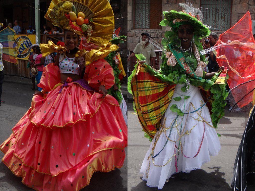 costumes at Carnival