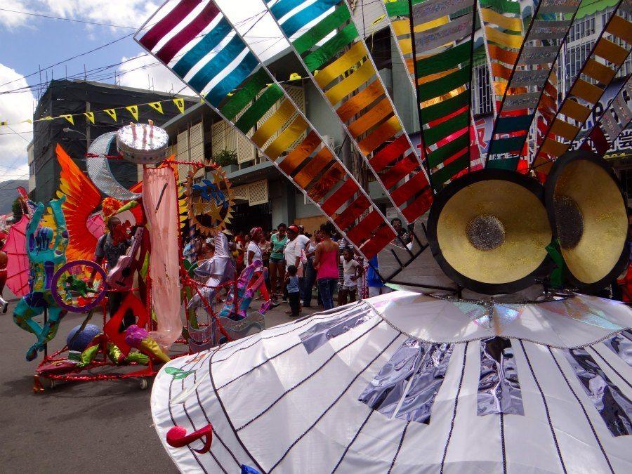 Dominica Carnival Parade costumes