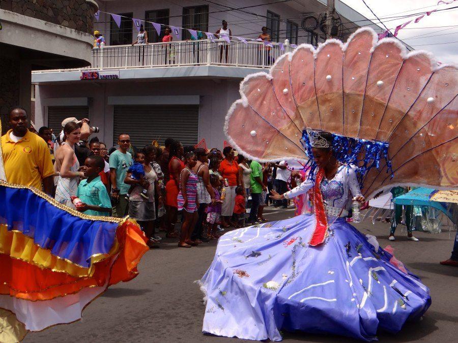 The Most Vibrant Dominica Carnival Costumes