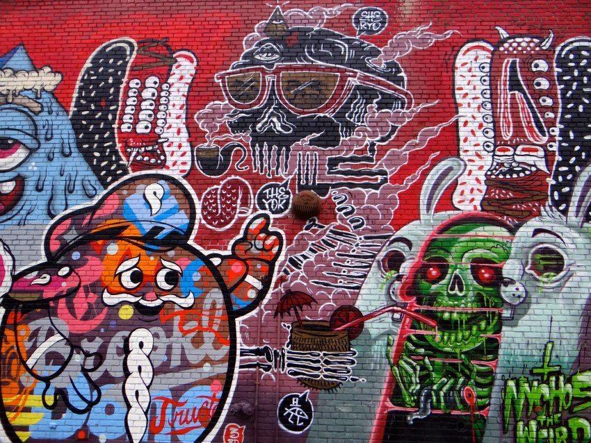 Urban Art Scene in Brooklyn