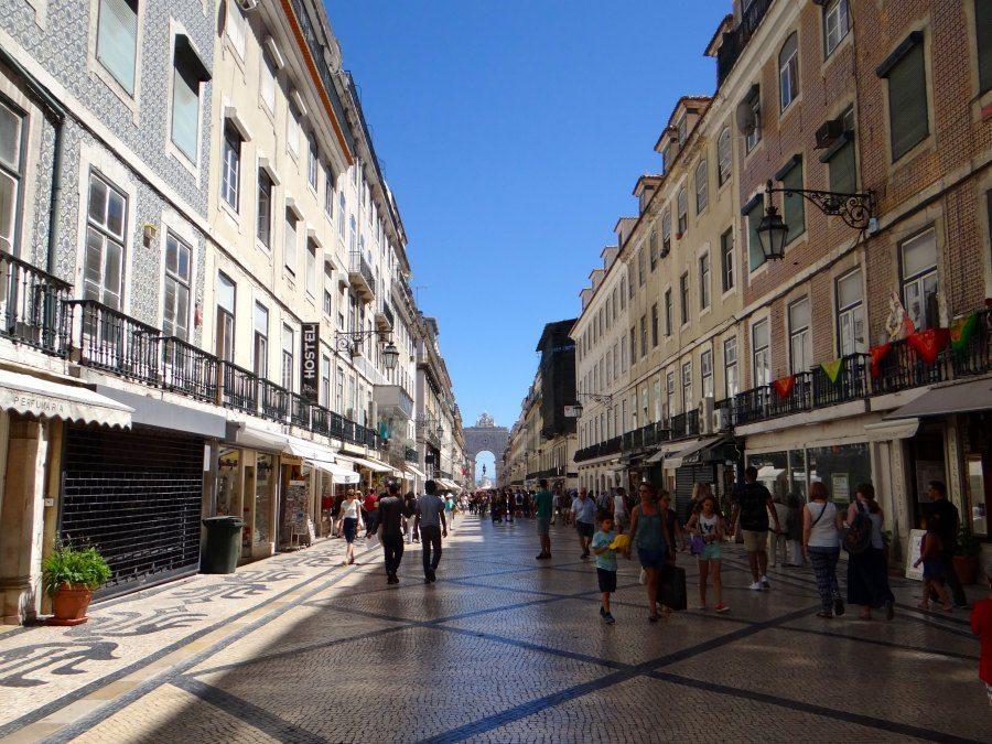 Barrio Alto in Lisbon