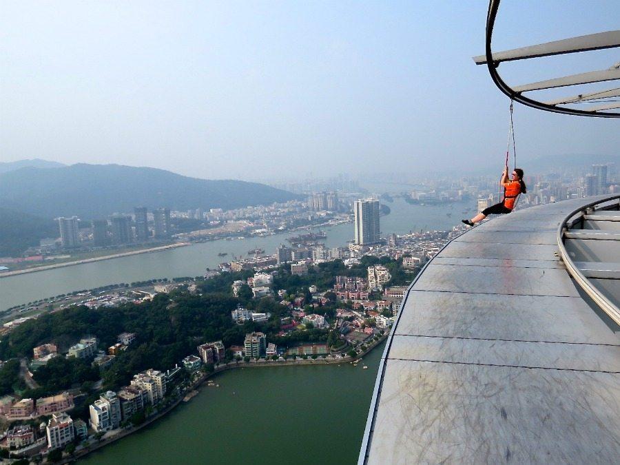 Skywalk Macau Tower