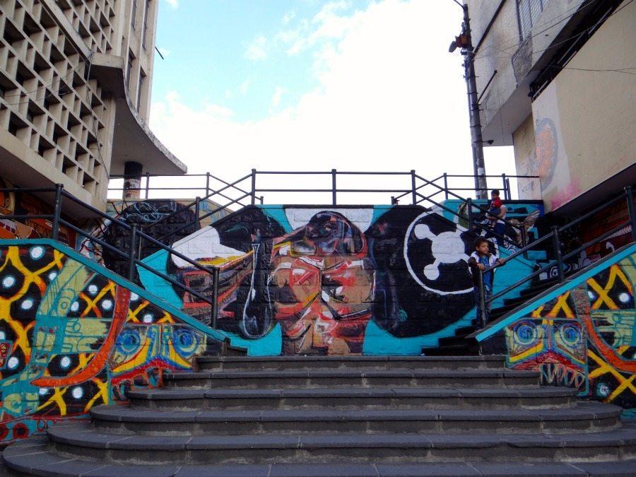 street art in Quito