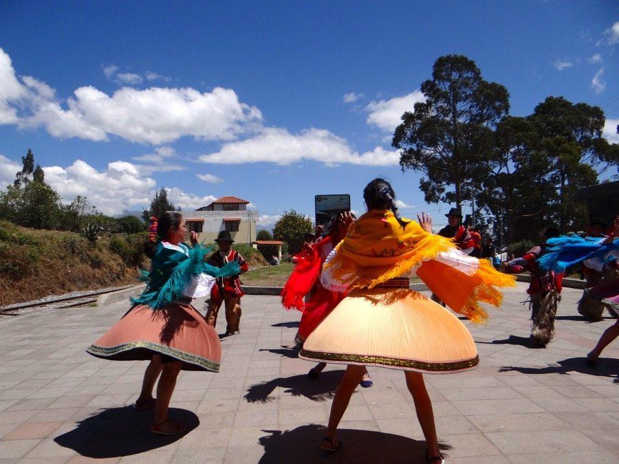 indigenous dances in Ecuador
