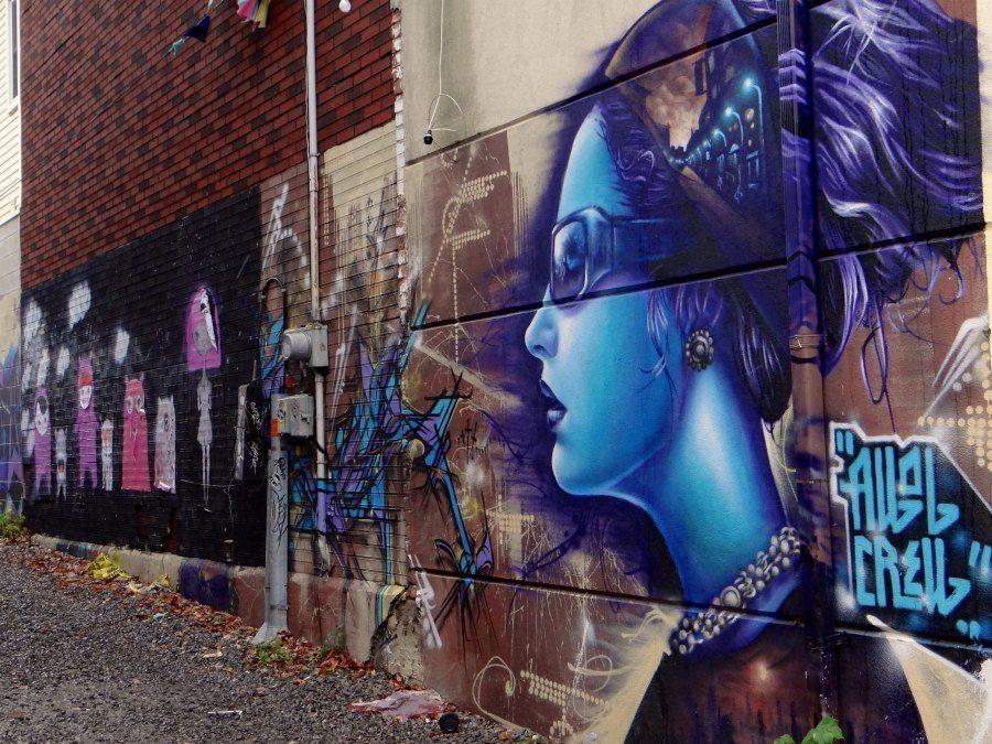 The best graffiti in Toronto