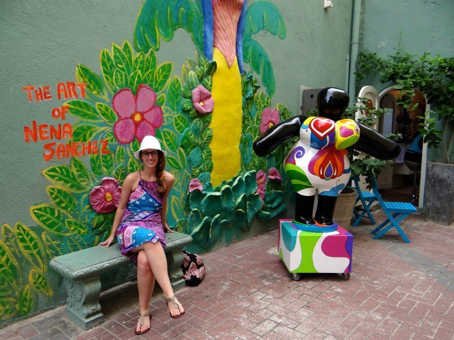 traditional artwork in Curacao
