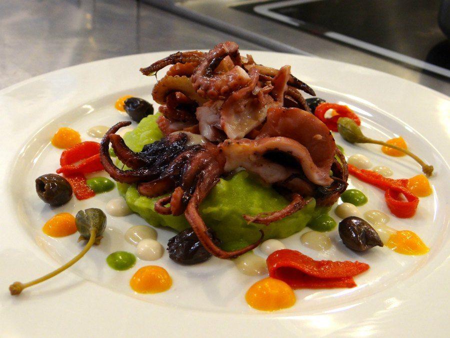 gourmet Italian seafood