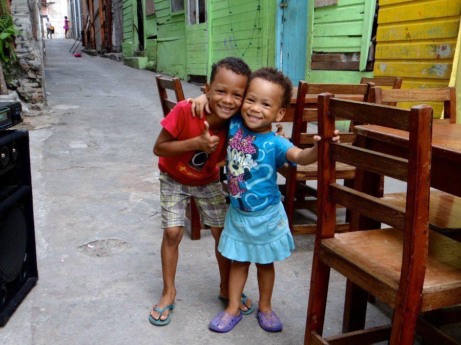 cute kids of Panama City