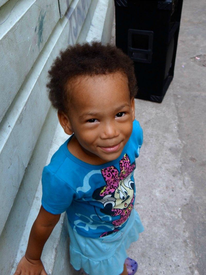 happy kids in Panama