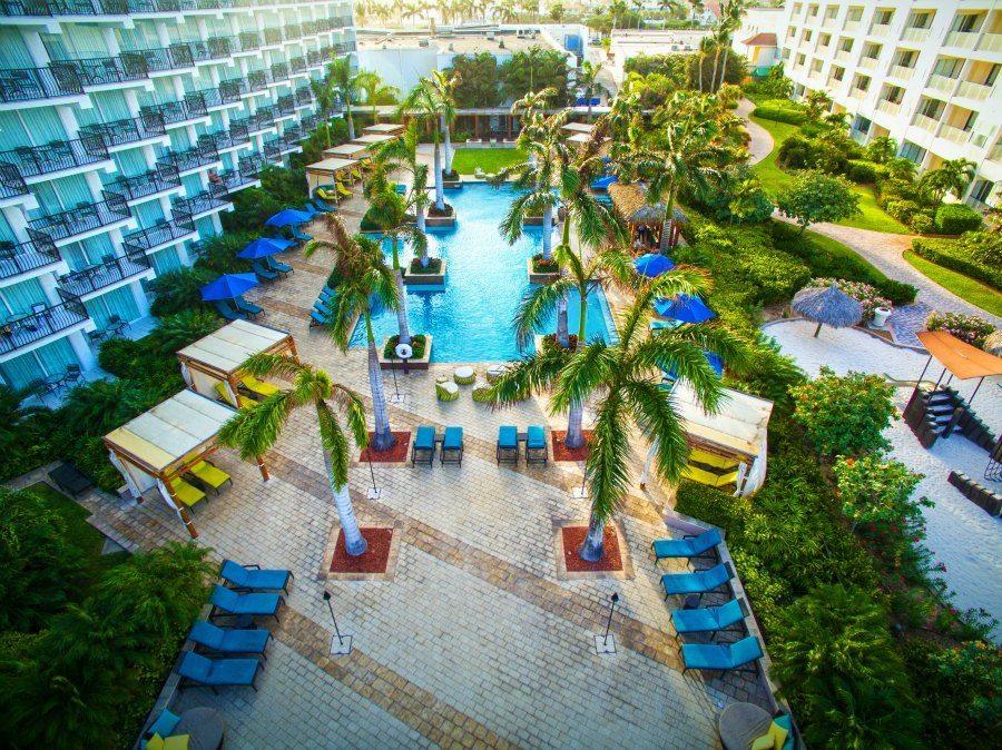 Adult Pool at Aruba Marriott
