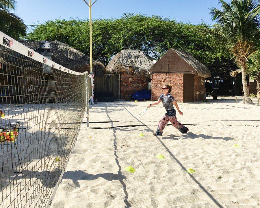 Tennis classis in Aruba