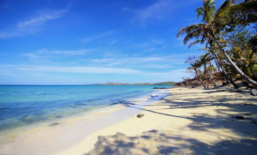 Turtle Island's private beaches