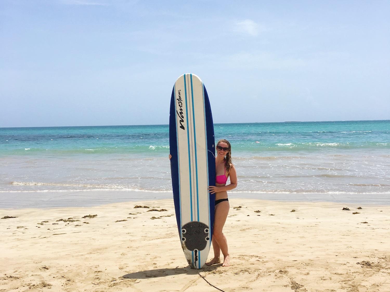 surf class San Juan