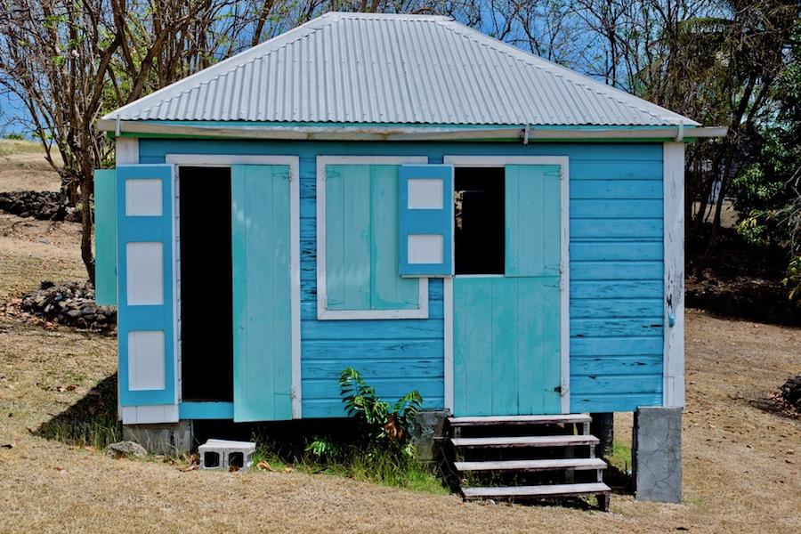 local villages in Nevis