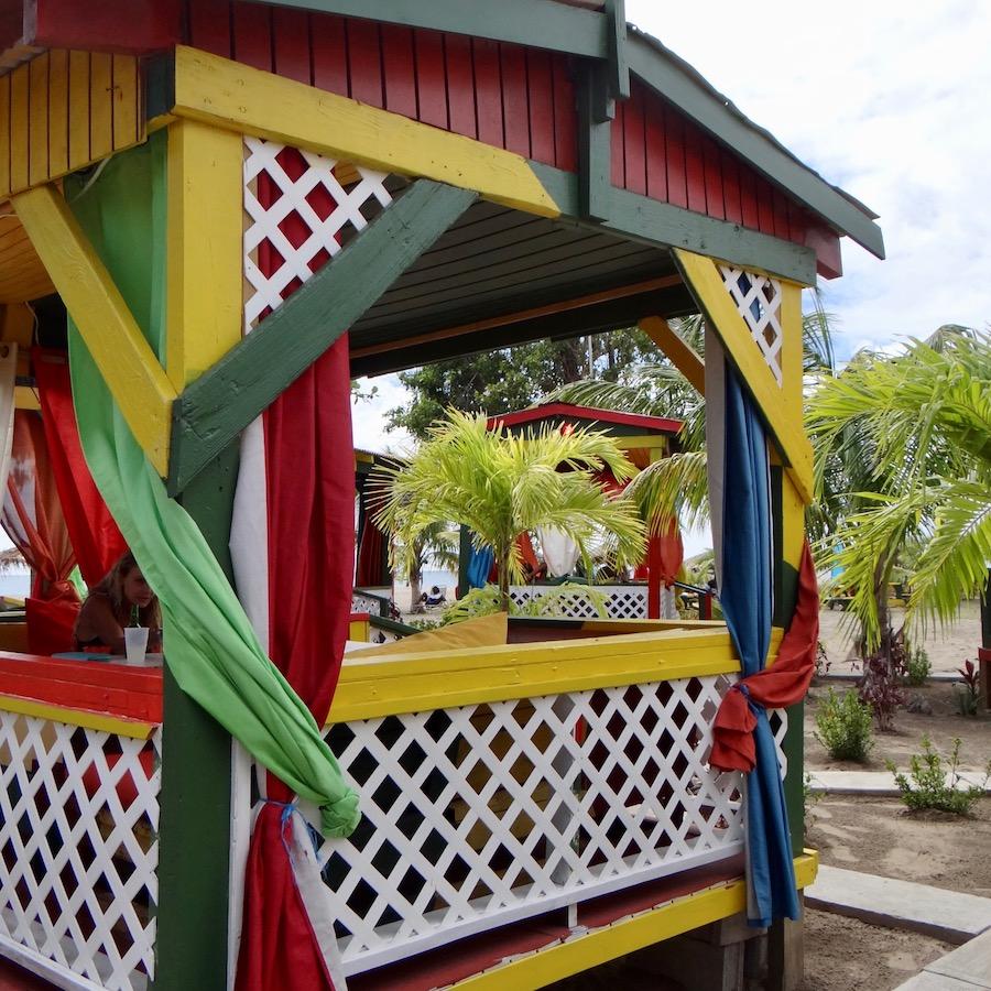 beach hangouts in Nevis